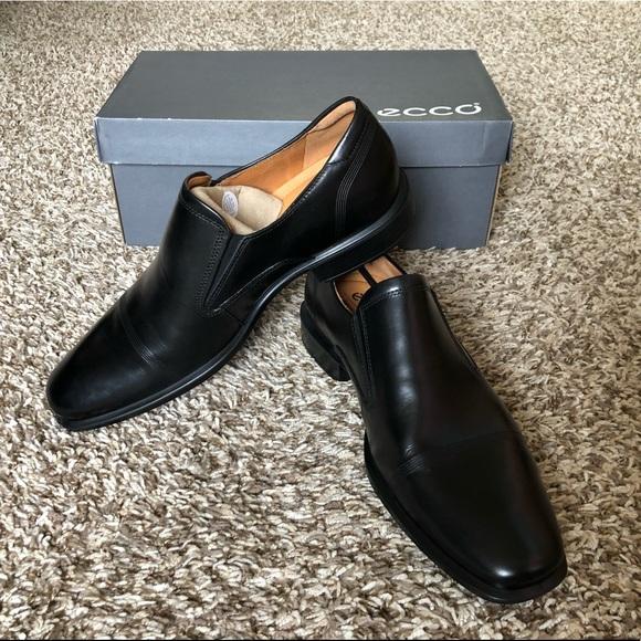 Ecco Shoes   Nib Mens Cairo Slipon